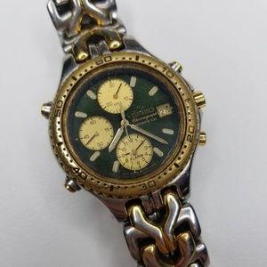 Rare Vintage Seiko Chronograph Sports 100